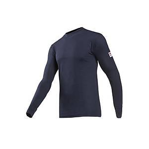 Sioen Beltane 2690 T-shirt, lange mouwen, marine, maat M, per stuk