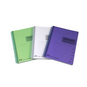 Gambol DS1488 Notebook Assorted Colour A5 - 80 Sheets