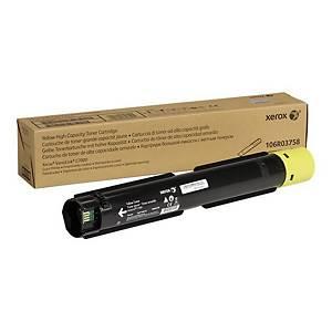 Xerox C7000 Laser Toner Cartridge HY Yellow