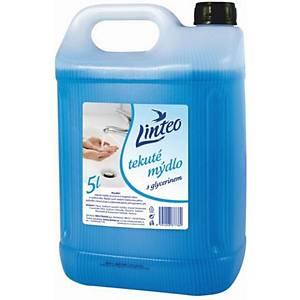 Tekuté mýdlo Linteo modré, 5 000 ml