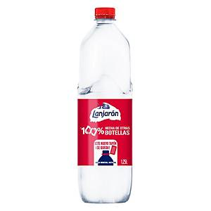 PK6 WATER BOT LANJARON 1.25L 100% R-PET
