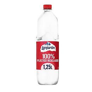 Pack de 6 botellas de agua Lanjaron - 100% R-PET - 1,25 l