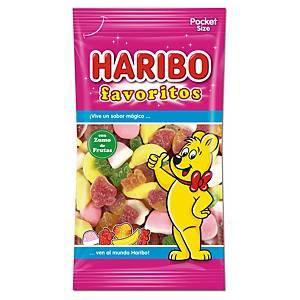 Bolsa de caramelos de goma y regaliz Haribo - favoritos de azúcar - 75 g