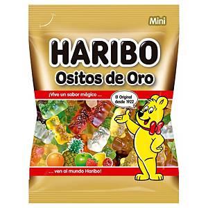 Pack de 200 mini embalagens de gomas em forma de ossinhos Haribo - Dourado - 3 g