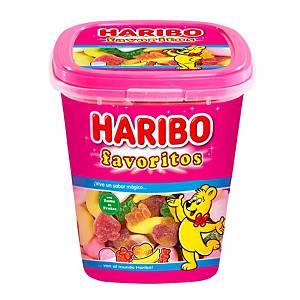 Tarrina de caramelos de goma y regaliz Haribo - favoritos de azúcar - 180 g
