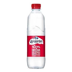 Pack de 24 garrafas de água Lanjaron - 50% R-PET - 50 cl