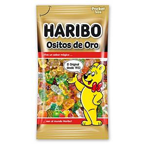 Bolsa de ositos de goma Haribo - Oro - 75 g