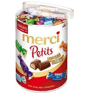 Surtido de mini bombones Merci Petits - chocolate - 1 kg