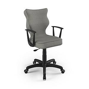 Kancelárska stolička Entelo Good Chair Norm, sivá