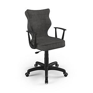 Kancelárska stolička Entelo Good Chair Norm, antracit