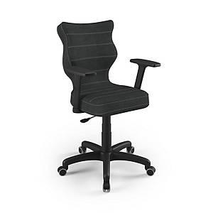 Kancelárska stolička Entelo Good Chair Uni, čierna