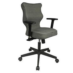 Kancelárska stolička Entelo Good Chair Nero, sivá