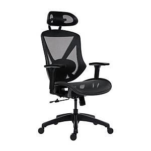 Antares Scope főnöki fotel, háló, fekete