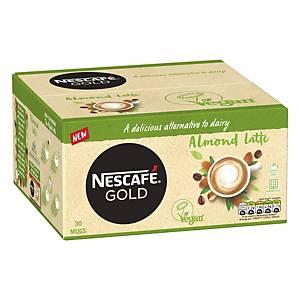 Nescafe Gold Coffee Sachet Almond Latte - Pack Of 30