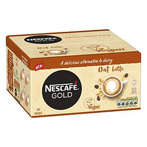 Nescafe Gold Coffee Sachet Oat Latte - Pack Of 30