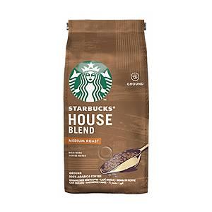 Starbucks Coffee House Blend Roast Ground Coffee - 200g