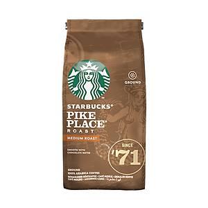 Starbucks Coffee Pike Place Medium Roast Coffee Beans - 200g