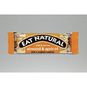 Eat Natural Almond & Apricot Bars - Pack Of 12