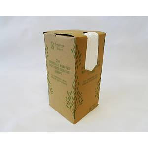 Individually Wrapped White Paper Straws - Pack Of 250