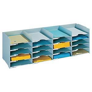 Bakkemodul Paperflow, med 20 rum, 32,2 x 85,8 x 33 cm