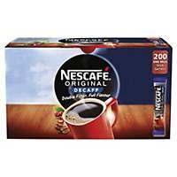 Nescafe Original Decaffeinated Coffee Sticks - Pack Of 200