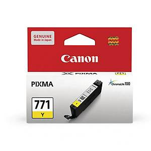 Canon CLI-771 Inkjet Cartridge - Yellow