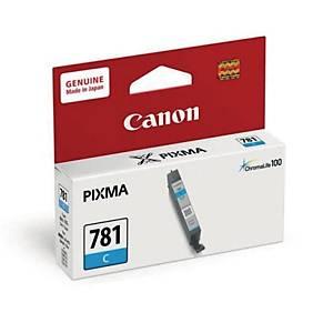 CANON ตลับหมึกอิงค์เจ็ท CLI-781C สีน้ำเงิน