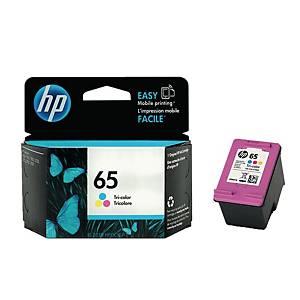 HP ตลับหมึกอิงค์เจ็ท HP65 N9K01AA 3 สี