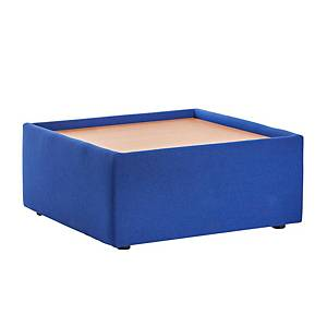 Alto modular reception seating wooden table - blue - Del & Ins