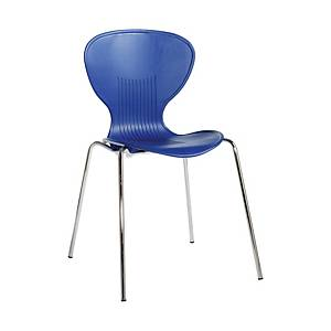 Sienna Dining Chair Blue - Pack Of 4 - Del & Ins
