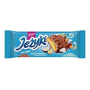 Ciastka JEŻYKI Kokos, 140 g