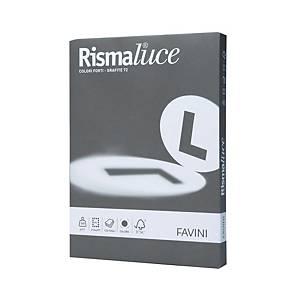 Cartoncini Rismaluce grafite 200g/mq A4 - risma 125 fogli