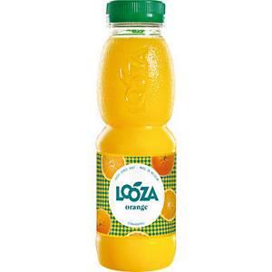 Looza Jus d orange boisson fraîche en bouteille 33 cl - paquet de 24