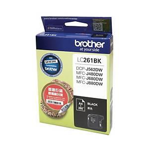 Brother LC261BK Inkjet Cartridge - Black