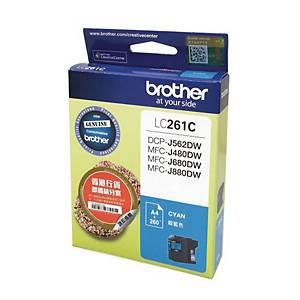 Brother LC261C Inkjet Cartridge - Cyan