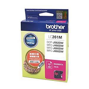 Brother LC261M Inkjet Cartridge - Magenta