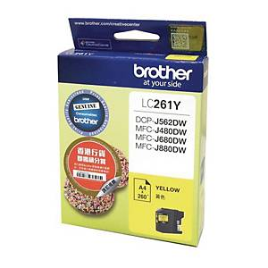 Brother LC261Y Inkjet Cartridge - Yellow