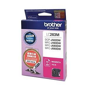 Brother LC263M Inkjet Cartridge - Magenta