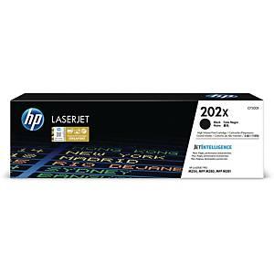 HP CF500X 202X 鐳射碳粉盒 黑色