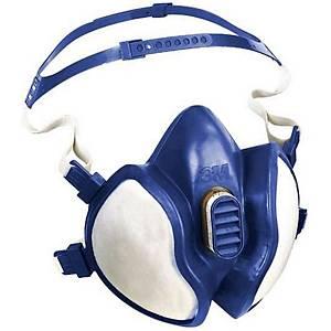 Masque moitié du visage 3M 4251+, FFABE1P3 R D, avec filtres ABE1P3 intégrés