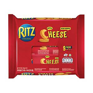 RITZ Cheese Sandwich Crackers 27g - Pack of 9