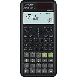 Taschenrechner Casio FX-87DE PLUS-2, 10 / +2stellig, Solar-/Batteriebetrieb, swz