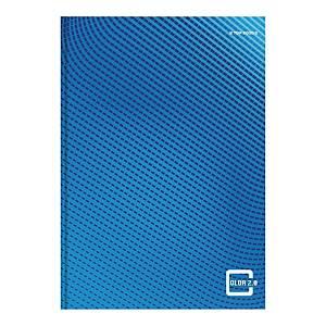 Brulion TOP2000 Color 2.0,  A4, kratka, 96 kartki, niebieski