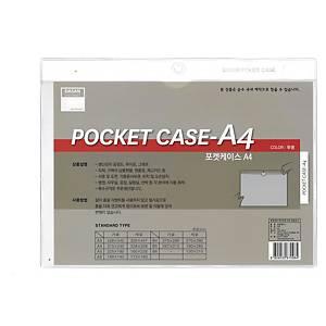 DASAN D-7102 HANGING POCK PVC 320X447 A4 TRANSP
