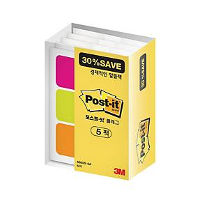 PK5 POST-IT 686SS-5A INDEX OFFICE PACK