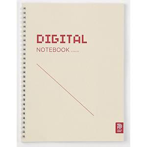 네오랩 디지털 스프링 노트북 188 X 257 72매