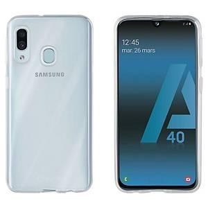 Coque Muvit Crystal Soft pour Samsung Galaxy A40 - transparente