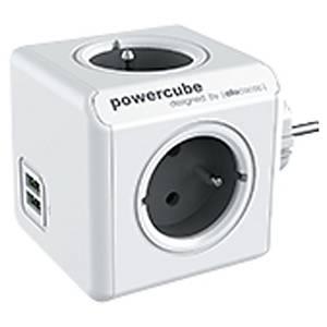 ALLOCACOC 2202GY POWERCUBE USB 1.5M
