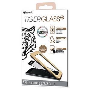Verre trempé Muvit Tiger pour iPhone 6+/6S+/7+/8+