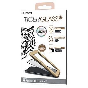 Verre trempé Muvit Tiger pour iPhone X/XS